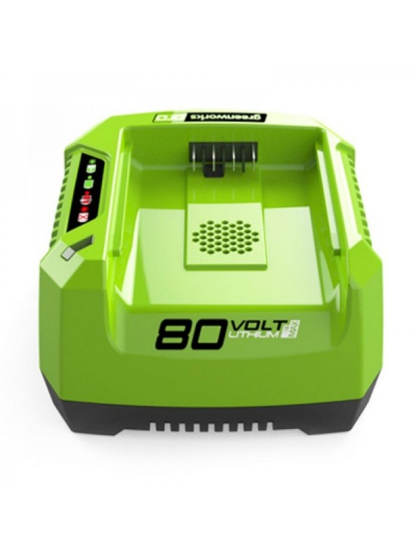 Greenworks 80 volt Acculader G80C
