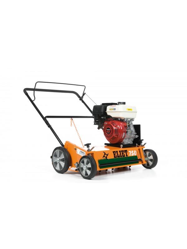 Eliet E 750 DC Benzine Verticuteermachine 9 pk