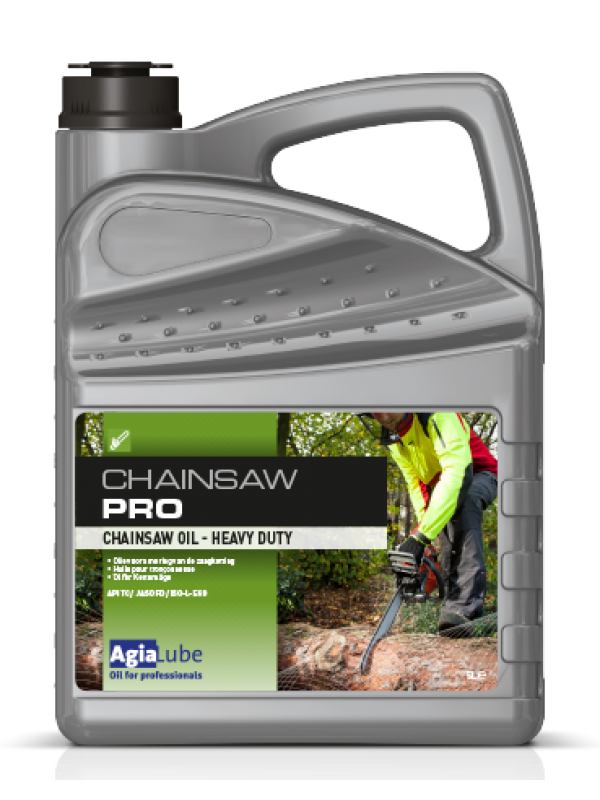 Agialube Kettingzaagolie / Chainsaw PRO  5 ltr