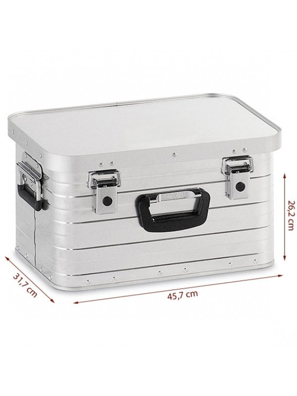 Aluminium Box voor achterop de Bigwheelcruiser Accu step