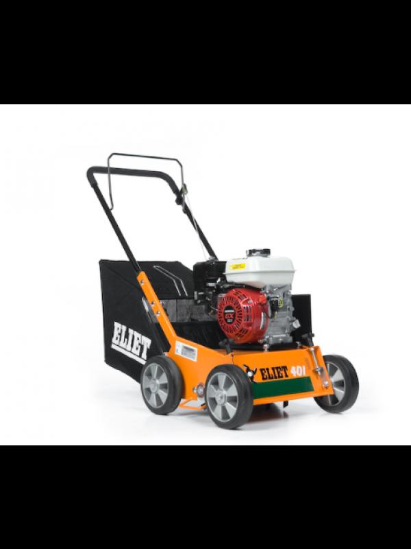Eliet E 401 VM Benzine Verticuteermachine 4 pk (Honda GX 120) met vanger