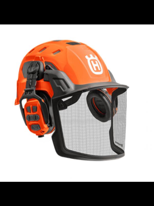 Husqvarna X-COM R Bluetooth Boomverzorgers Helm Technical