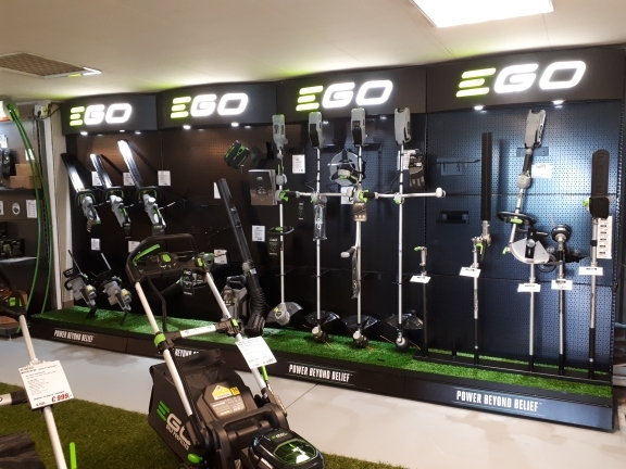 ego power plus showroom