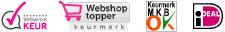 Webwinkel Keur | Webshop Topper | MKB OK | iDEAL